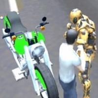 Супер-робот борьба с преступностью