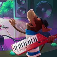 Букабу: щенячий барабанный прыжок
