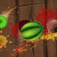 Ниндзя режет фрукты