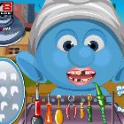 У Смурфа болят зубы