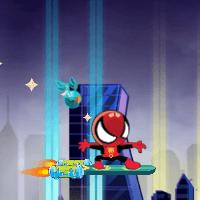 Полет человека паука