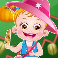 Малышка Хейзел: праздник урожая