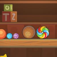Найди конфету: Комнаты