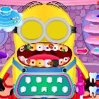 Миньон лечит зубы