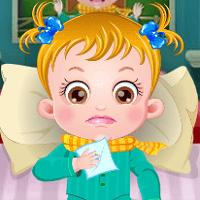 Малышка Хейзел болеет