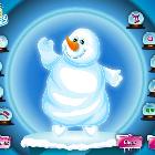 Нарядный снеговик