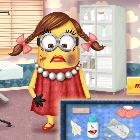 Девочка Миньона заболела