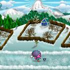 Тото ловит снежинки