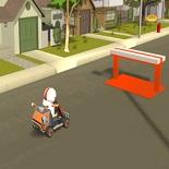 Игра Кик Бутовский: Гонки 3D