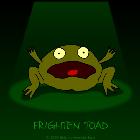 Пугливая лягушка