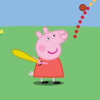 Свинка Пеппа: бита и мяч