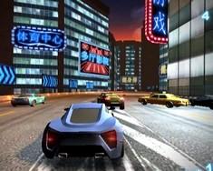 Гонки по ночному городу 3Д