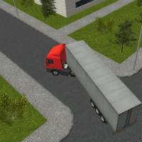 Паркинг трейлеров 3Д