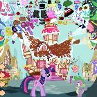 Нарядный пони