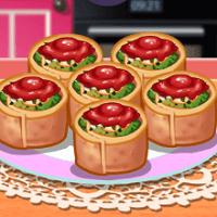Кулинарный класс Сары: ротоло со шпинатом