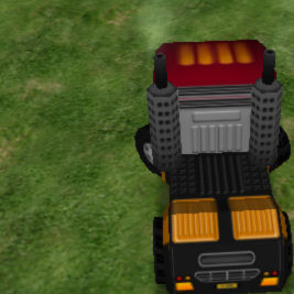 Крутой водитель грузовика