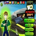 Игра Бен 10: Дрифт