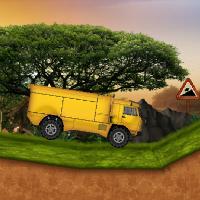 КАМАЗ в джунглях