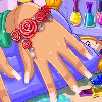 Современный салон красоты ногтей