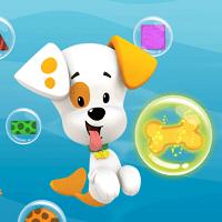 Гуппи и пузырики: обучение щенка