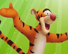 Раскраска Тигруля