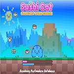 Игра Суши Кот: Время перекусить