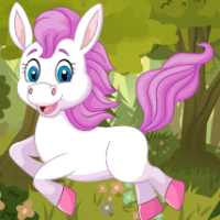 Пазл: милый маленький конь