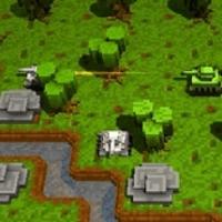 Воксельный танк 3Д