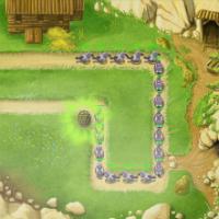 Защита башнями от захватчиков на ферме