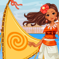 Корабль принцессы Моаны