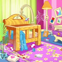 Уборка кукольного домика