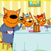Три кота: Семья в сборе