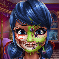 Хеллоуинский макияж