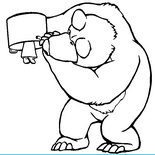 Медведь Ищет Машу
