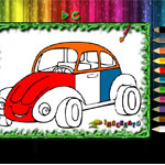 Раскрась авто