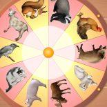 Волшебное Колесо Животные