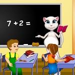 Беременная Анжела Школьный Учитель