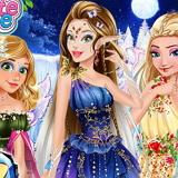Принцессы Диснея Зимние Феи