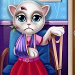 Кошка Анжела в Госпитале