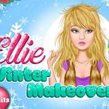 Зимний макияж Элли