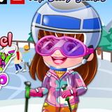 Хейзел Модный Лыжник