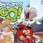 Пазл Angry Bird Go