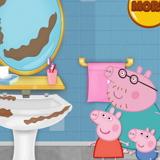 Свинка Пеппа Убирает в Ванне