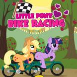 Маленькие Пони на Велосипеде