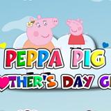 Одень Свинку Пеппу ко Дню Матери
