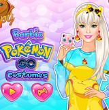 Барби в Стиле Покемона Go