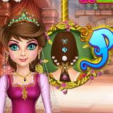 Уход за волосами принцессы