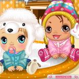 Уход за Малышами: Зимние Малышки