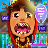 Лечение зубов у Джейка из Сабвей Серф