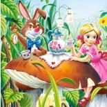 Пазл Алиса с Белым Кроликом